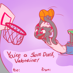 Happy Impractically Shaped Basketball! by Nox-id