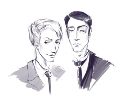 Jeeves and Wooster by lili-paletskaya