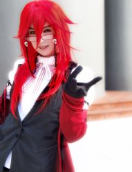 Grell: Butler of Death by haraju2girls
