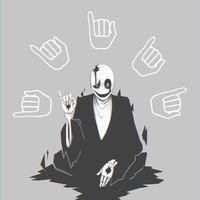 [UNDERTALE] SPEAKSINHANDS by krwawnik