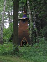 little witch house by mimose-stock