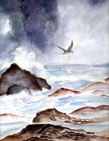 First Waterscape/ Seascape by KatelynXue