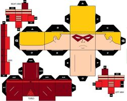 CubeeCraft Red Arrow DC Super Heroes by handita2006