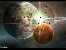 Tor Aires the scarred planet by Bareck