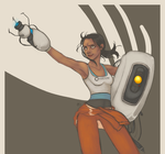 Portal: The Escape by Tell-Me-Lies