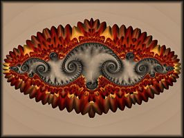 More Flaming Spirals by Rozrr