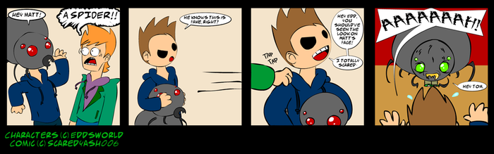 EddsWorld Fancomic: Happy Oct by ScaredyAsh006