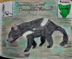 Tasmanian Devil - Animal of August 2018 by MoonyMina