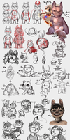 Imp Sketchpage by llEttell
