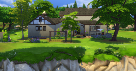Greenville Exterior Rear by BUILDSims
