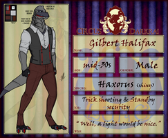 CD: Gilbert Halifax by Derekari