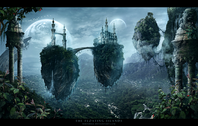 The Floating Islands by Whendell