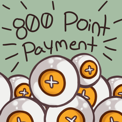 [Pay With Points Here] 800 Point Payment by heartof-theforest