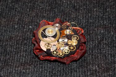 Professor's brooch by silveriatha