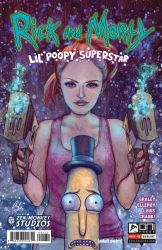 Rick and Morty: Li'l Poopy Superstar #1 (cover) by AliceMeichi