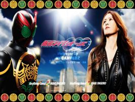 Kamen Rider OOO Anything Goes by MeGaMRedZ