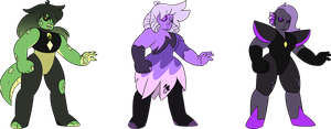 some good ol' quartzes [1/3 OPEN] [PRICE LOWERED] by taaffeiite