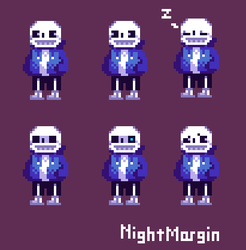 Sans pixel by NightMargin