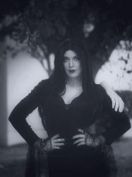 Morticia Addams by Oreparma