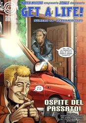Get a Life 14 - Cover by saganich