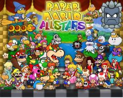 Mario All Stars Paper theme by Fredericton-high