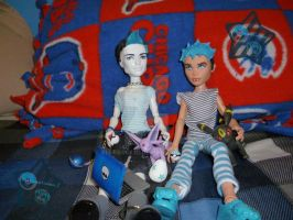 Monster High or Pokemon by bluerage10