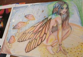 Fairy Art GCSE by NatalieGuest
