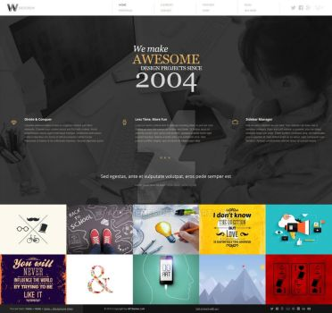 WIDESCREEN UNIQUE PORTFOLIO and ONLINE STORE by ait-themes