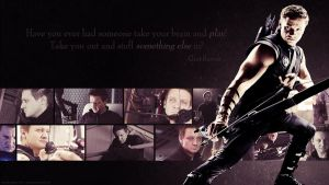 Avengers Wallpaper Set - Hawkeye by Sidhrat