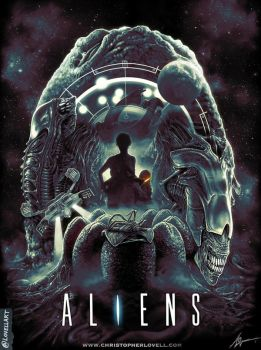 ALIENS by Lovell-Art