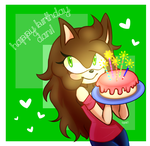 Happy Birthday DanielasDoodles! by Guguda01