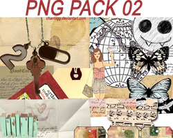 PNG PACK 02 by ChantiiGG