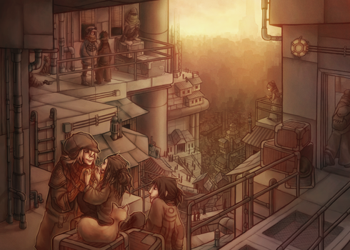 The place where we can live free by kinixuki