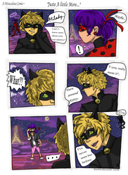 Just A Little More: A Ladybug Comic by AstaraBriarart