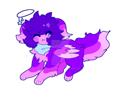 sparkledog oc by coughii