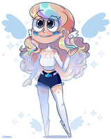 Lyna Butterfly Thomas (Contest Entry!) by G-0-l-d-e-n