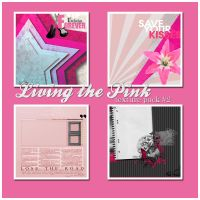 Living the Pink Texture Pack 2 by downgirl