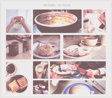 {Pictures of food} by Poqi