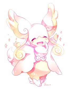 Mega audino by Natx-chan