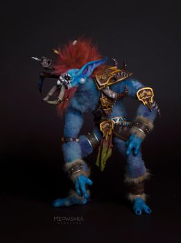 The Shadow hunter Vol'jin by miaushka-workshop