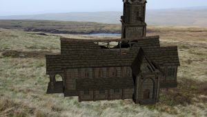 XPS Release! Abandoned Church by Fuzzy-Moose