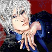 Vergil is DA BOSS by YumiYoukkai