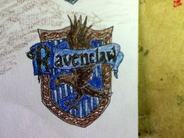 Ravenclaw Coat of Arms by amandaolbel
