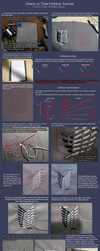 Attack on Titan Emblem Tutorial - Survey Corps. by neptunyan