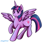 twilight sparkle stickers by ASinglePetal