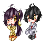 :Chibi Commission: CuteNikeChan by Silvers-Ace