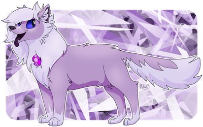 Wolfathyst! (Point Commission) by FirestarandScourgeXD
