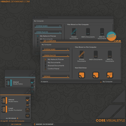 CORE.VISUALSTYLE by aMADme