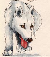 Request: Wolf Pup for MysticShinyUmbreon by Chayt