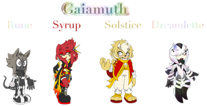 Meet the Cast of Gaiamuth by Gaiamuth